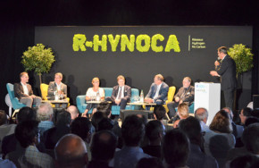 R-Hynoca sur sa rampe de lancement