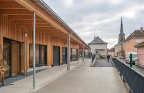 Une maison de l'enfance passive et bas carbone à Weitbruch